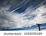 blue sky cloudscape | Shutterstock . vector #1053050189