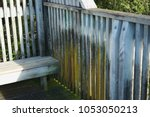 graffiti on the fence at the... | Shutterstock . vector #1053050213