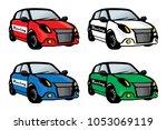 cars vector illustration logo... | Shutterstock .eps vector #1053069119