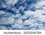 bright sky and fresh air for... | Shutterstock . vector #1053106784