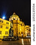 Charles Iv Statue And Church O...