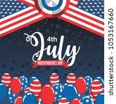 united states of america... | Shutterstock .eps vector #1053167660