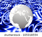 the grey earth | Shutterstock . vector #105318554