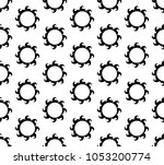 american seamless pattern with... | Shutterstock .eps vector #1053200774