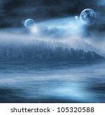 fantasy illustration of an... | Shutterstock . vector #105320588
