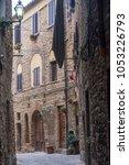 volterra  pisa  tuscany  italy  ... | Shutterstock . vector #1053226793