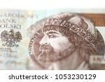 poland money isolated on white... | Shutterstock . vector #1053230129
