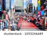 new york city  usa   october 28 ...   Shutterstock . vector #1053246689