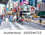 new york city  usa   october 28 ...   Shutterstock . vector #1053246713