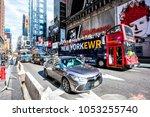 new york city  usa   october 28 ... | Shutterstock . vector #1053255740