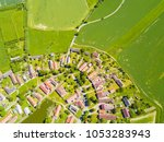 aerial view of beautiful... | Shutterstock . vector #1053283943