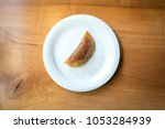 traditional turkish sweet... | Shutterstock . vector #1053284939