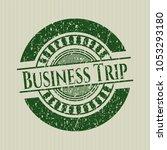 green business trip distress... | Shutterstock .eps vector #1053293180