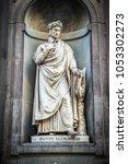Statue Of Dante Alighieri  On...