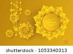 akshaya tritiya celebration... | Shutterstock .eps vector #1053340313