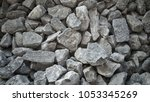 rubble pile texture for... | Shutterstock . vector #1053345269