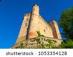 Small photo of Serralunga d'Alba castle, medieval village in Piedmont, north Italy