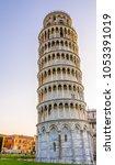 pisa  italy   08 02 2017  the... | Shutterstock . vector #1053391019