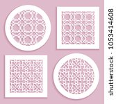 round and square line patterns  ...