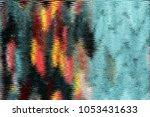 abstract image vertical drawing ... | Shutterstock . vector #1053431633