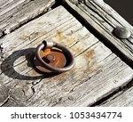 Old Metal Rusty Dock Ring...