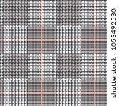 glen plaid vector pattern in... | Shutterstock .eps vector #1053492530