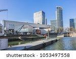 rotterdam  the netherlands  ... | Shutterstock . vector #1053497558
