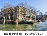 rotterdam  the netherlands  ... | Shutterstock . vector #1053497564