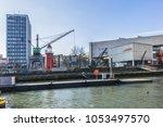 rotterdam  the netherlands  ... | Shutterstock . vector #1053497570