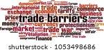 trade barriers word cloud... | Shutterstock .eps vector #1053498686
