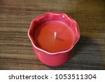 candle   non burning | Shutterstock . vector #1053511304