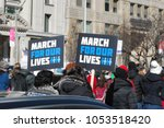march 24 2018  march for our... | Shutterstock . vector #1053518420