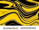 yellow and black creative... | Shutterstock . vector #1053535343