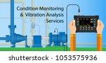 rotor probe fix speed tool... | Shutterstock .eps vector #1053575936
