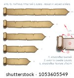 vector illustration of a...   Shutterstock .eps vector #1053605549