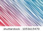 light blue  red vector pattern... | Shutterstock .eps vector #1053615470