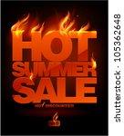 Fiery Hot Summer Sale Design...