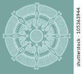 Ornamental Lace In Circle ...