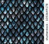 seamless oxide metallic texture ...   Shutterstock . vector #1053649178