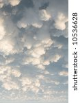 white puffy clouds in the sky | Shutterstock . vector #10536628