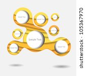 abstract modern creative... | Shutterstock .eps vector #105367970