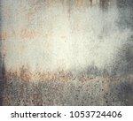 cement texture abstract grunge... | Shutterstock . vector #1053724406