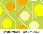 saemless pattern of the... | Shutterstock .eps vector #1053740060