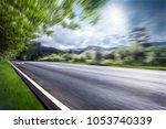 road in mountains | Shutterstock . vector #1053740339
