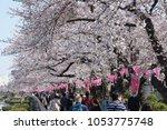 tokyo  japan   march 25th  2018 ...   Shutterstock . vector #1053775748