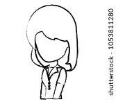 avatar woman icon | Shutterstock .eps vector #1053811280