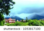 clouds and great grand...   Shutterstock . vector #1053817100