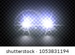 cars flares light effect.... | Shutterstock .eps vector #1053831194