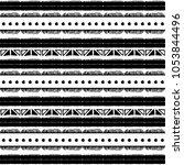 ethnic seamless pattern in... | Shutterstock .eps vector #1053844496