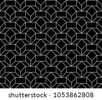 black and white simple... | Shutterstock .eps vector #1053862808